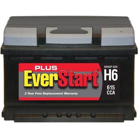 Everstart Plus Lead Acid Automotive Battery Group H6