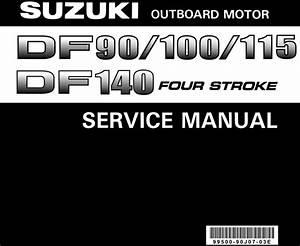 Suzuki Df90 100 115 140 Outboard Service Repair Manual