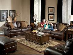 Living Room Collection by Living Rooms With Dark Brown Leather Couches Axiom Leather Sofa Collection