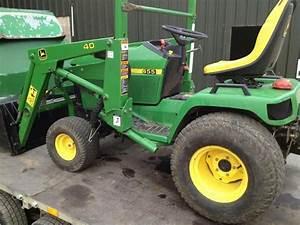 2001 John Deere 455 John Deere 455 Diesel Ride On Mower
