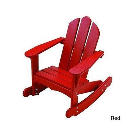 adirondack rocking chair chairs toddler pine wood