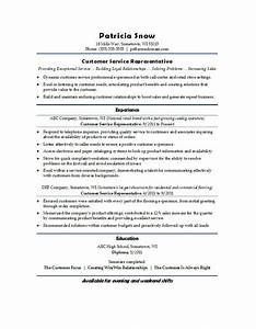 Cutomer service resume for Client services resume