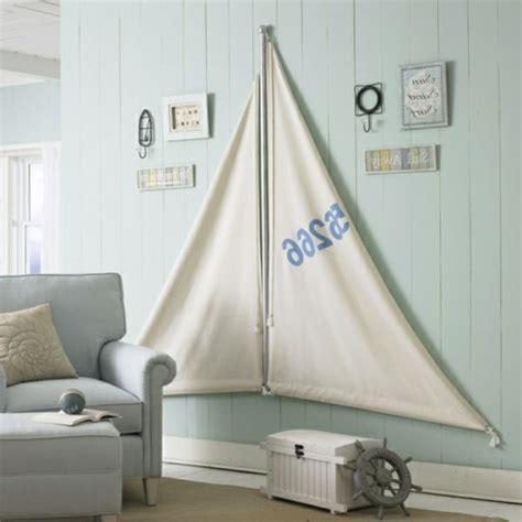 deko ideen selbermachen wohnzimmer seesegel wohnzimmer maritime look deko selber machen interessante wandgestaltung sofa