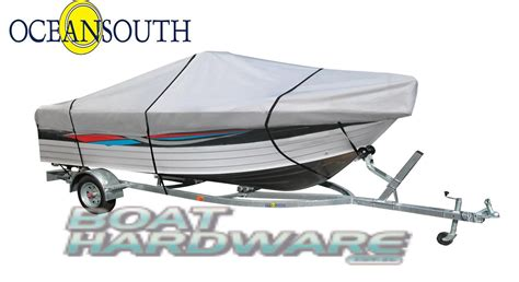 Oceansouth Boat Cover Reviews by Centre Console 5 9 Up To 6 3m Boat Cover Ma204 13