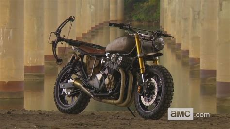 The Walking Dead's Daryl Dixon's Custom Scrambler