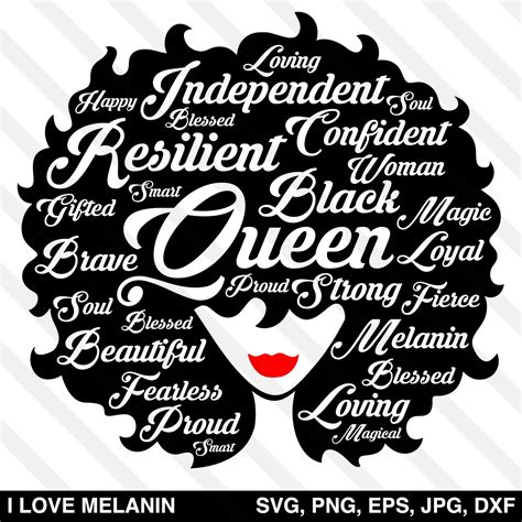 Download this free picture about woman head afro from pixabay's vast library of public domain images and videos. Black Queen Afro Woman SVG - I Love Melanin
