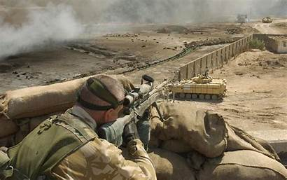 Army British Military Snipers Soldiers Wallpapers Lrr