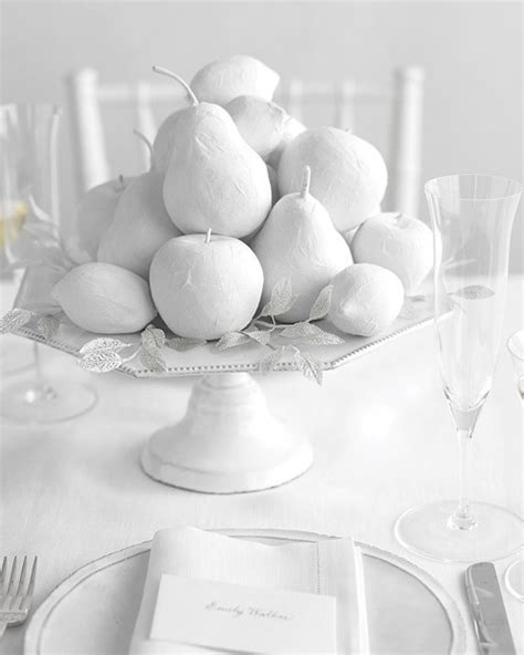 Winter White Fruits How-To | Martha Stewart Weddings