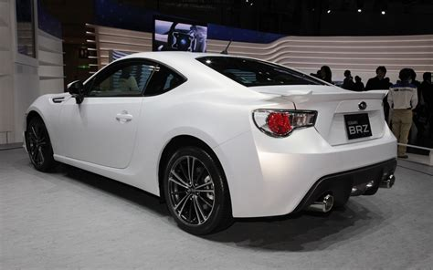 subaru white car subaru brz matte white rear three quarters jpg photo 13
