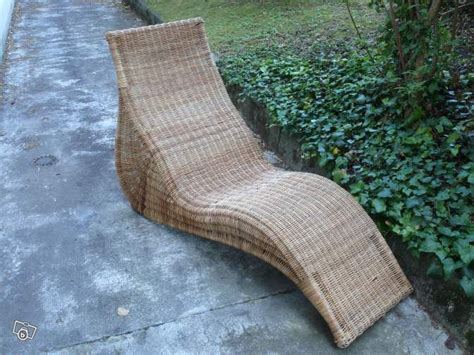 chaise longue en rotin ancienne fauteuil chaise longue ikea karlskrona rotin sw7