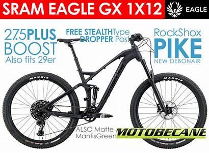 Mountain Bikes Suspension Motobecane Eagle Boost 150mm