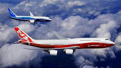 Boeing Planes Sky 747 Clouds Wallpapers Windows