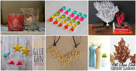 fascinating diy hot glue gun projects   craft lover