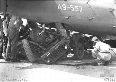 wwii jeep engine a badly smashed australian army jeep under the starboard