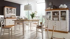 Esszimmer Im Landhausstil : tischgruppe landhausstil linea kiefer massivholz k716 ~ Sanjose-hotels-ca.com Haus und Dekorationen