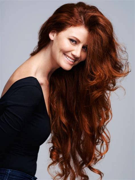 Coloration cheveux brun reflet roux Coiffures à la mode