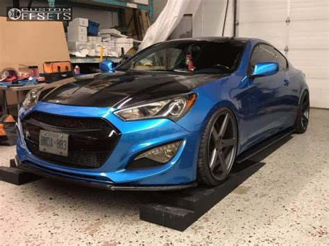 Hyundai Genesis Coupe Coilovers by 2014 Hyundai Genesis Coupe Vossen Cv3r Bc Racing Coilovers