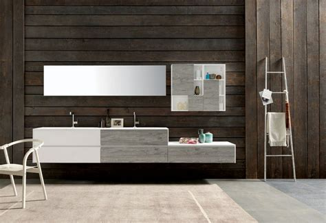 meuble salle de bain asymetrique meuble sous vasque salle de bain 35 solutions design