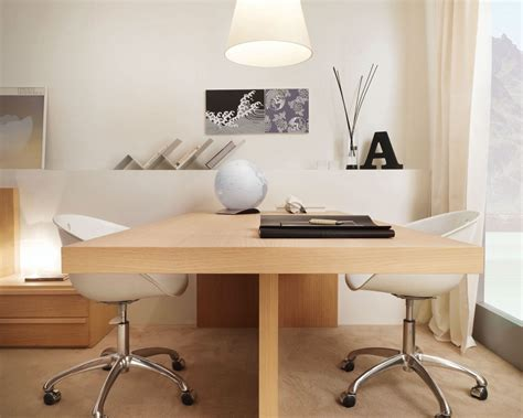 white two person desk 36 inspirational home office workspaces that feature 2