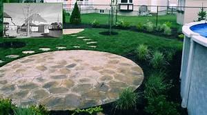 idee amenagement cour exterieure cgrio With exceptional amenagement terrasse piscine exterieure 9 photos de vos amenagements de cours et terrasses