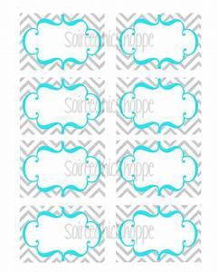items similar to custom printable chevron birthday wedding With free customizable printable labels