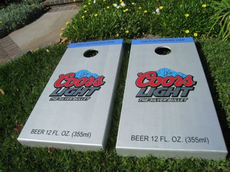 coors light corn hole coors light boards i reallylike these boards