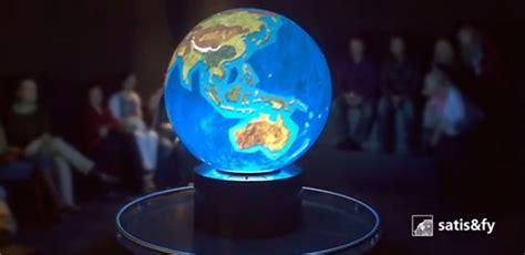 """Erdkugelprojektion & Ausstellungstipp """"planet 30"""