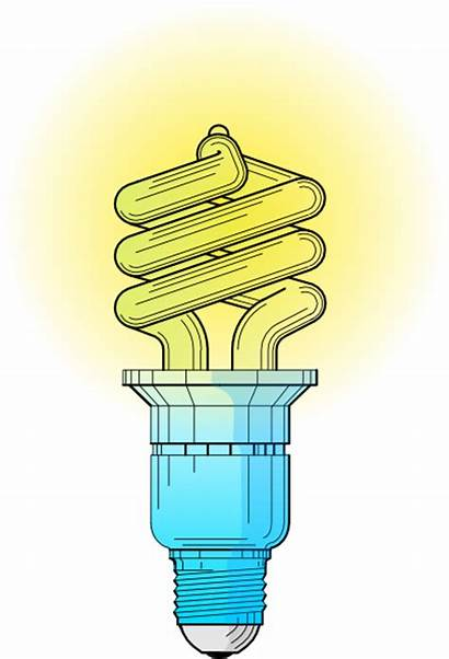 Energy Bulbs Clip Saving Bulb Cliparts Svg