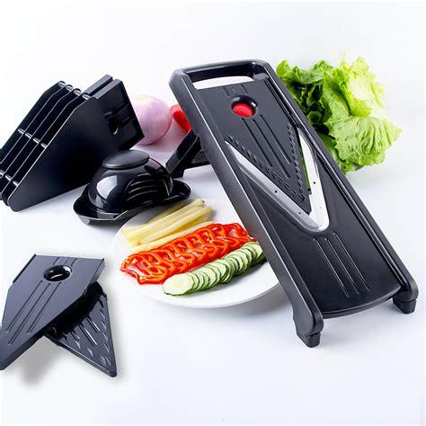 cutter de cuisine mandoline légumes trancheuse carotte râpe julienne légumes