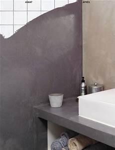Peinture Béton Ciré : repeindre carrelage salle de bain les 3 erreurs viter ~ Melissatoandfro.com Idées de Décoration
