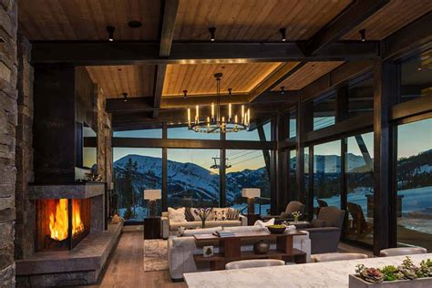 Rustic Meets Modern Mountain Home by Modern Rustic Mountain Home With Spectacular Views In Big