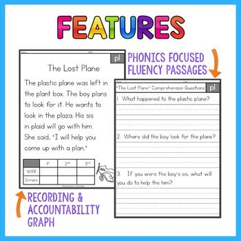 blends fluency passages blends worksheets education to the core