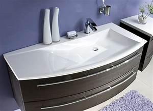 Waschtischunterschrank 120 Cm : puris crescendo waschtischunterschrank 120 x 47 x 48 cm f r waschtisch mit ablage links ~ Markanthonyermac.com Haus und Dekorationen