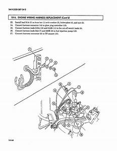 18-6  Engine Wiring Harness Replacement  Cont U0026 39 D