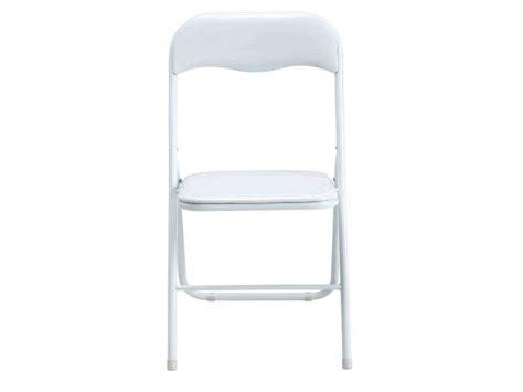 chaise pliante blanche pas cher chaise pliante blanche pas cher idées de décoration