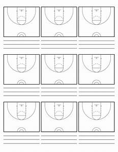 Custom Court Diagram Sheets