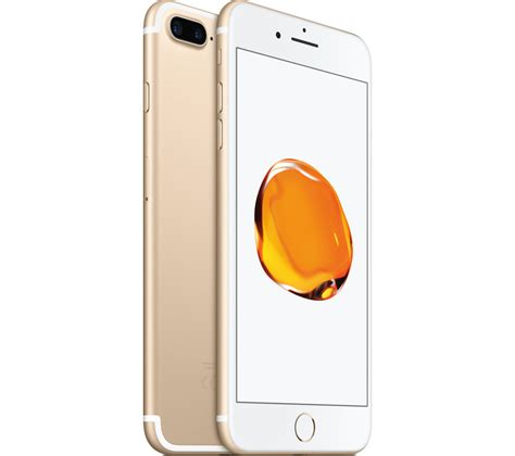 gold iphone 7 buy apple iphone 7 plus gold 32 gb free delivery currys