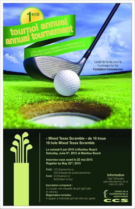 invitation au tournoi de golf du ccs et de la fondation