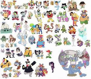 All Crash Bandicoot Characters! by KrystalFleming on ...
