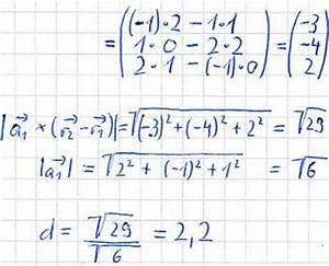 Vektoren Rechnung : abstand paralleler geraden ~ Themetempest.com Abrechnung