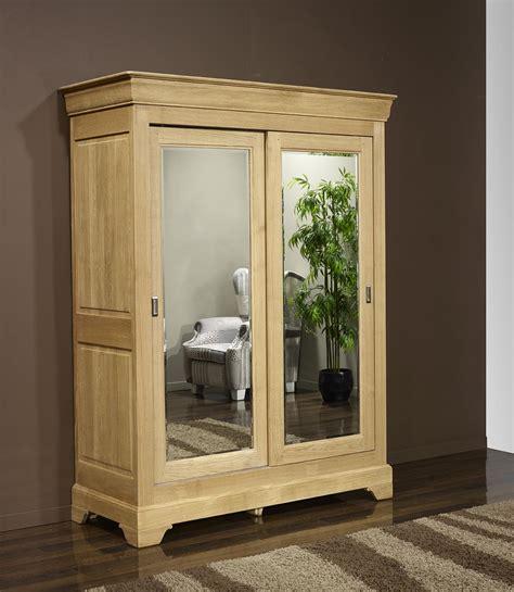 armoire 2 portes jean olivier en ch 234 ne massif de style