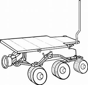 Mars Rover Coloring Page - Pics about space