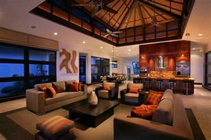 Orange And Brown Living Room Ideas Photo