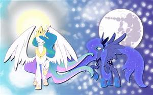 Luna and Celestia wallpaper 6 by AliceHumanSacrifice0 on ...