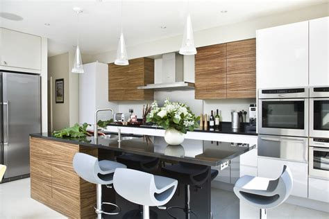 Contemporary Kitchen Furniture by Chiswick Contemporary Kitchen Higham Furniture