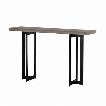 Console Modrest Concrete Sharon Metal Furniture Tables