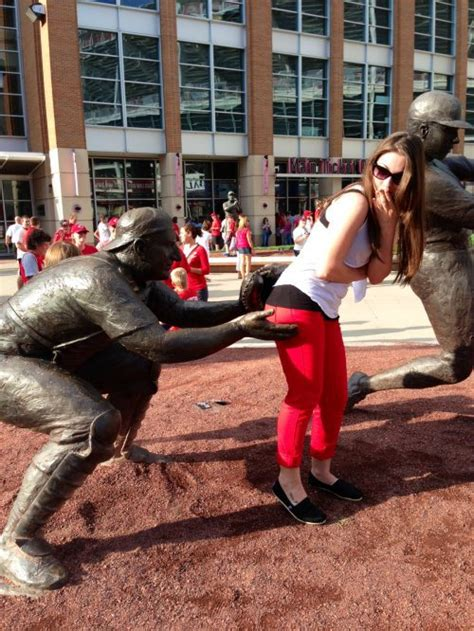 Fresh Photos Showing Girls Being Naughty With Statues