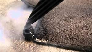 comment nettoyer un tapis de voiture avec un nettoyeur With nettoyer tapis vapeur