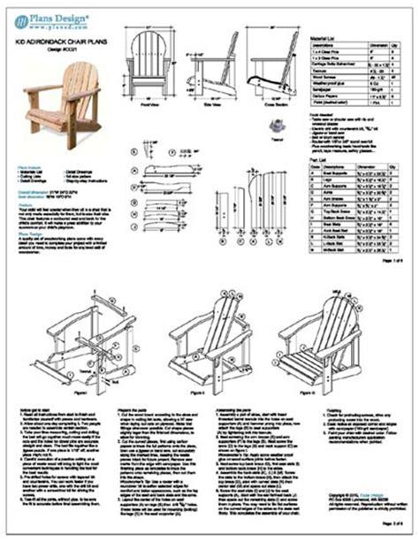 access adirondack chair cad plan ch