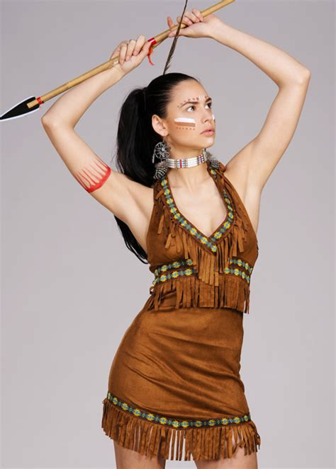 womens native indian princess costume